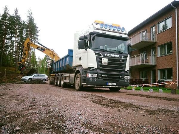 Scania R520LB - Lastbil - Treaentreprenad AB
