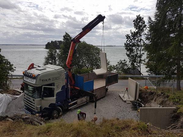 Lastbil - om oss - Treaentreprenad AB